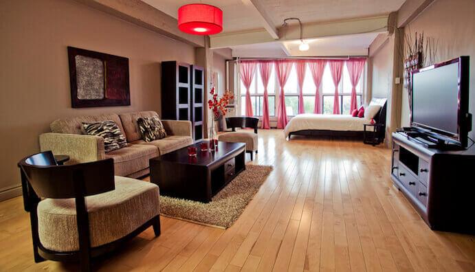 Loft h tel boutique hotel montr al hotel in montreal for Hotel boutique montreal