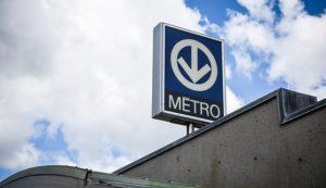 Station du métro de Montréal